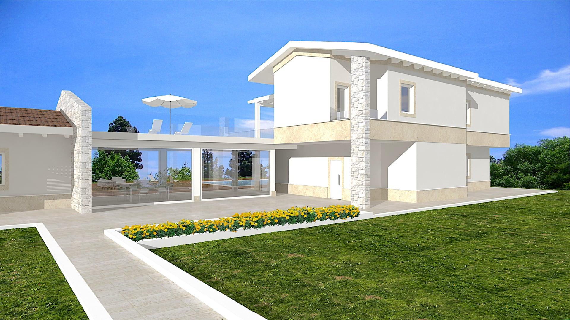 Villa in legno roberta avantgarde construct luxury for Ville in legno di lusso prezzi