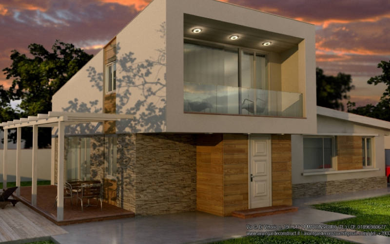 Prezzi case in legno prefabbricate offerta grezzo avanzato for Costo casa in legno