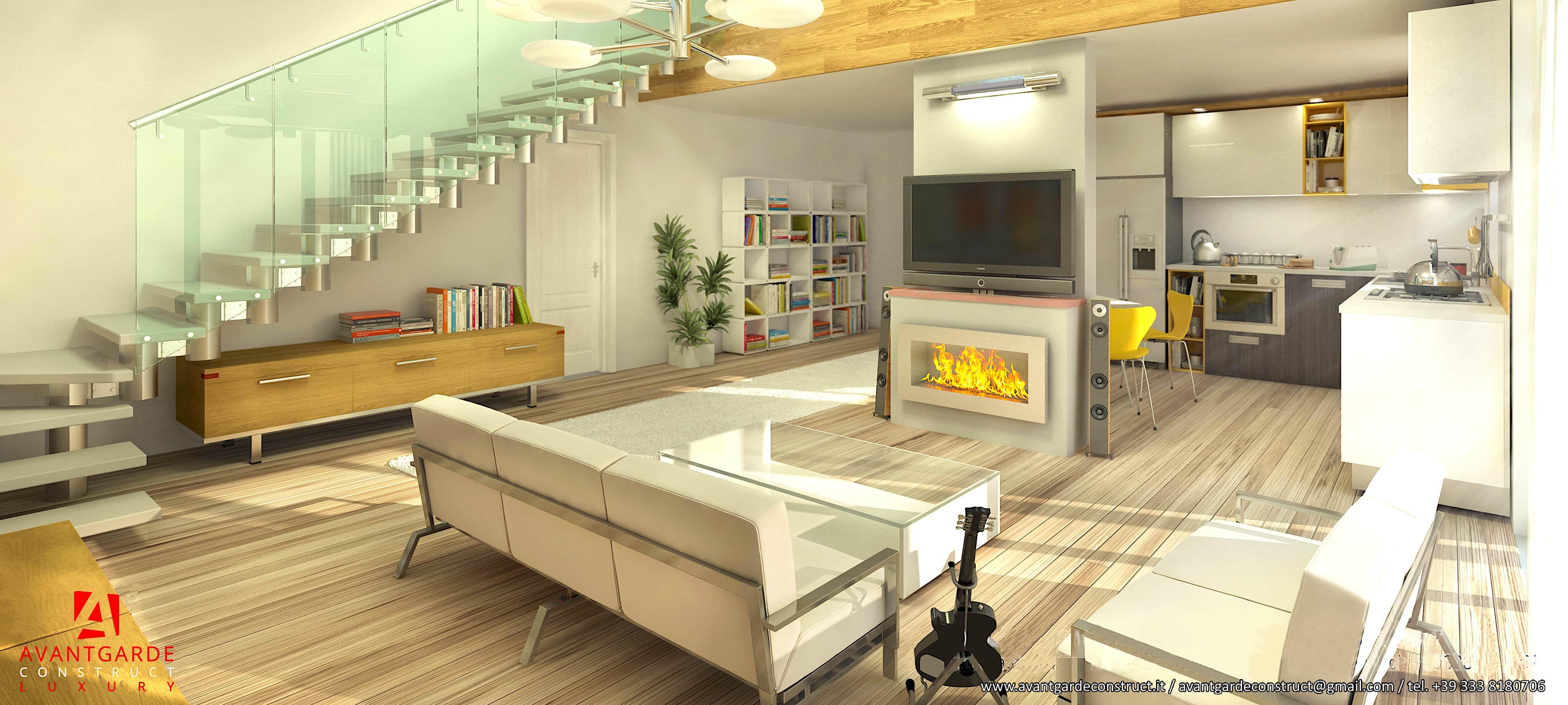 Ville in legno interni