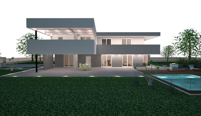 Case moderne in legno prezzi da 3000 mq casa di lusso for Case moderne prezzi