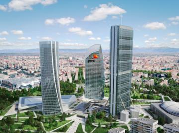 La torre Libeskind di Milano