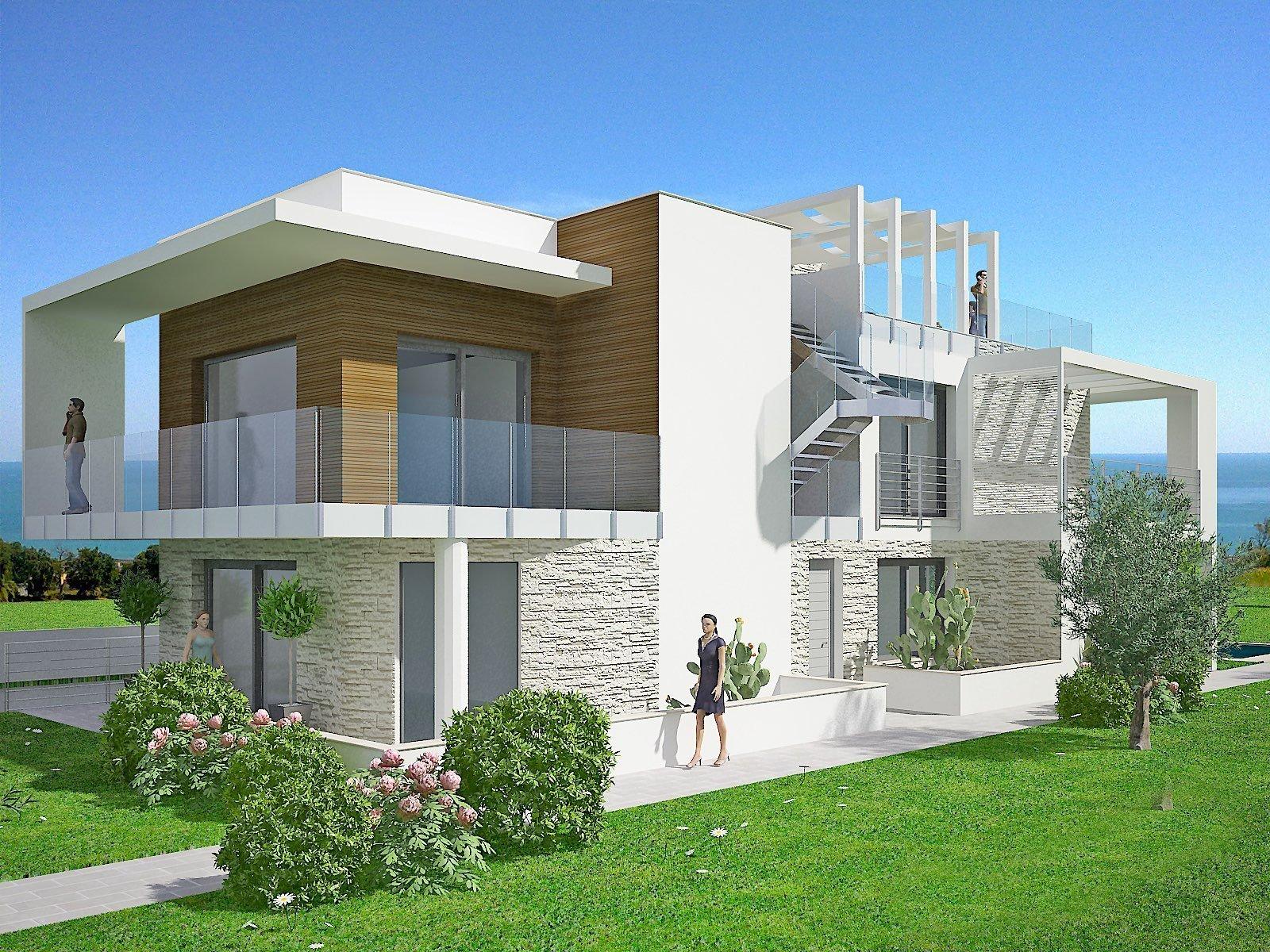 villa prefabbricata di lusso 1